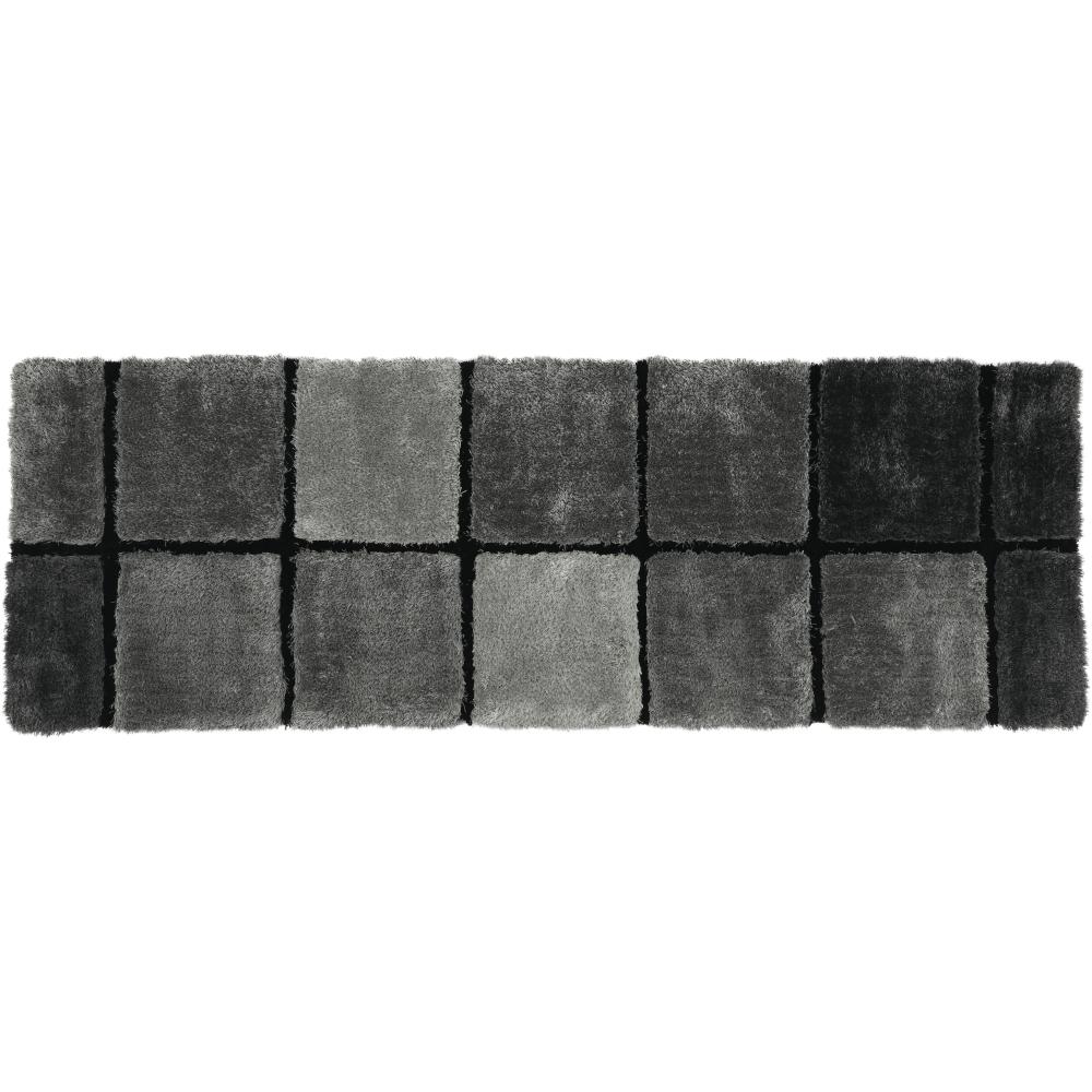 Koberec, sivá, 70x210, LUDVIG TYP 2