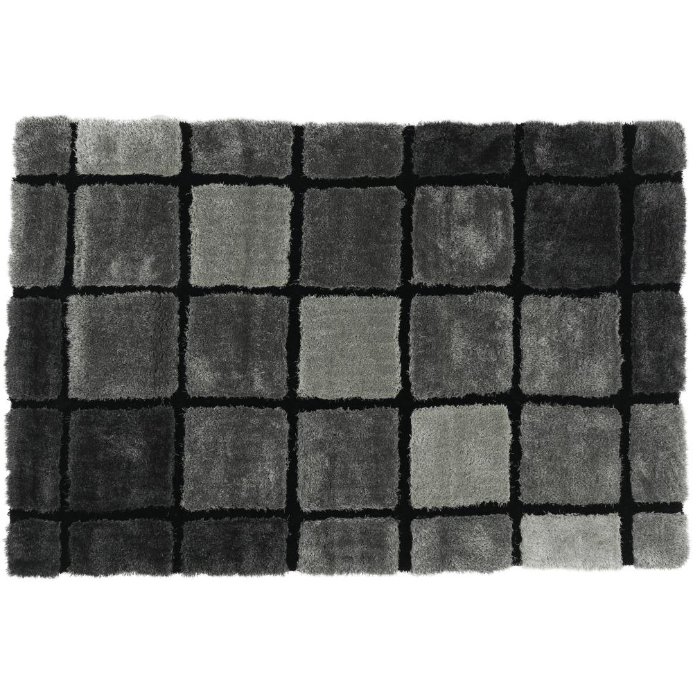 Koberec, sivá, 120x180, LUDVIG TYP 2