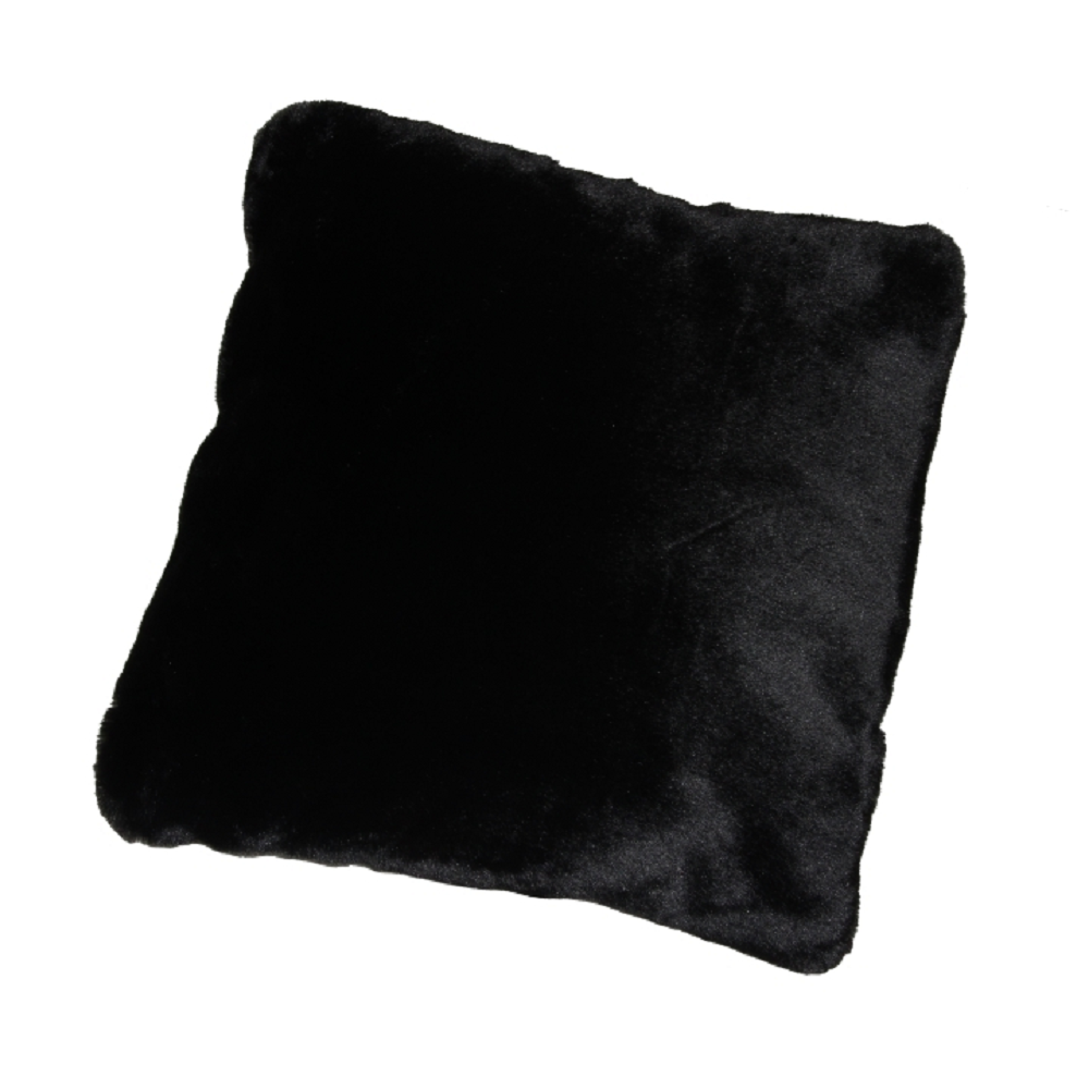 Vankúš, čierna, 45x45, RABITA TYP 1