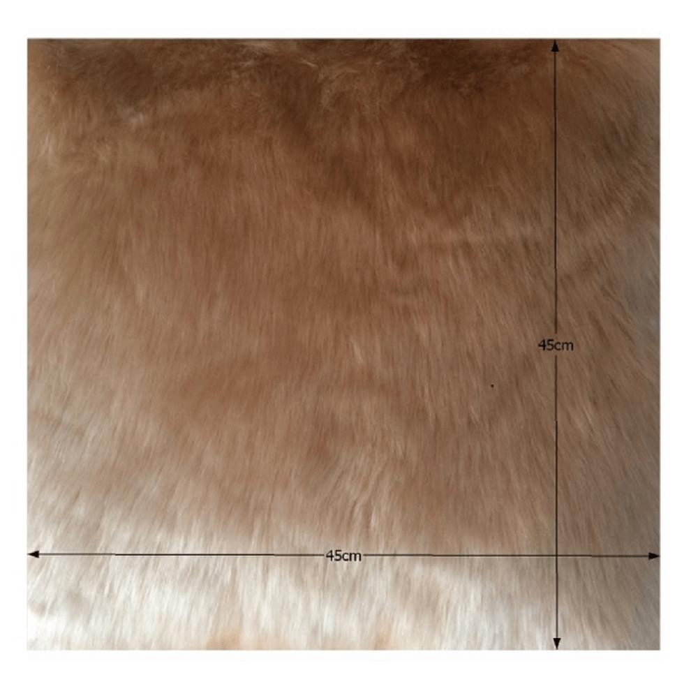 Polštář, béžová, 45x45, ROSALINE