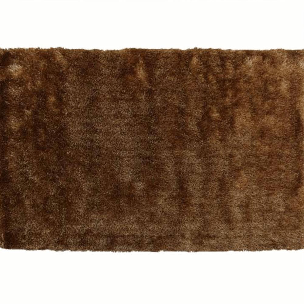 Koberec, hnedozlatá, 100x140, DELAND