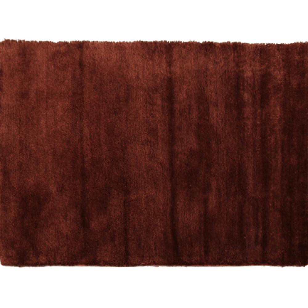 Koberec, bordovohnedá, 100x140, LUMA