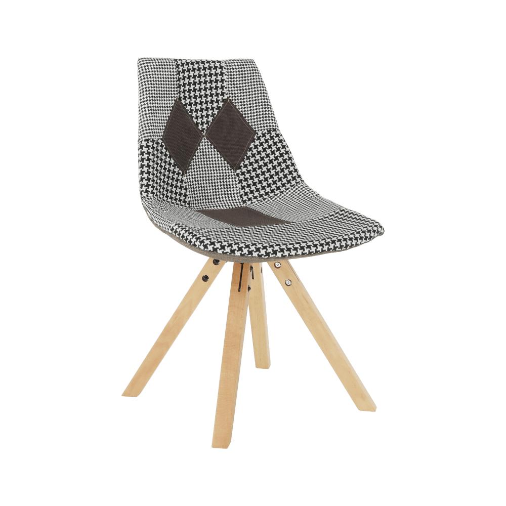 Scaun de design, material patchwork, PEPITO NEW TYPUL 10