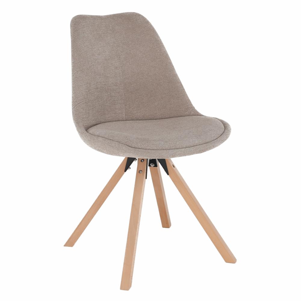 SABRA - Židle, béžová/buk, TEMPO KONDELA