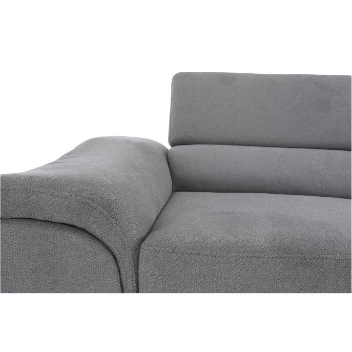 BUTON - rozkládací rohová sedací souprava s úložným prostorem, P provedení, ekokůže bílá, TEMPO KONDELA