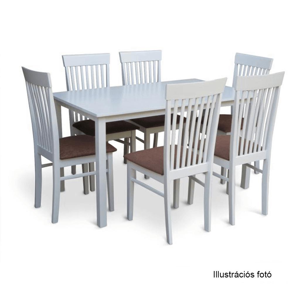 Étkezőasztal 135, fehér, ASTRO
