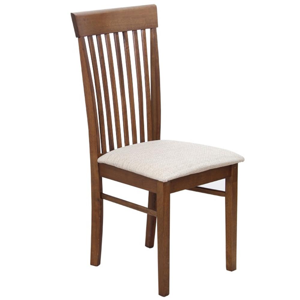 Židle, ořech / světlehnědá látka, ASTRO NEW, TEMPO KONDELA