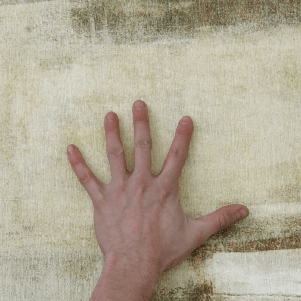 Szőnyeg barnásszürke, 80x150, ESMARINA TYP 1