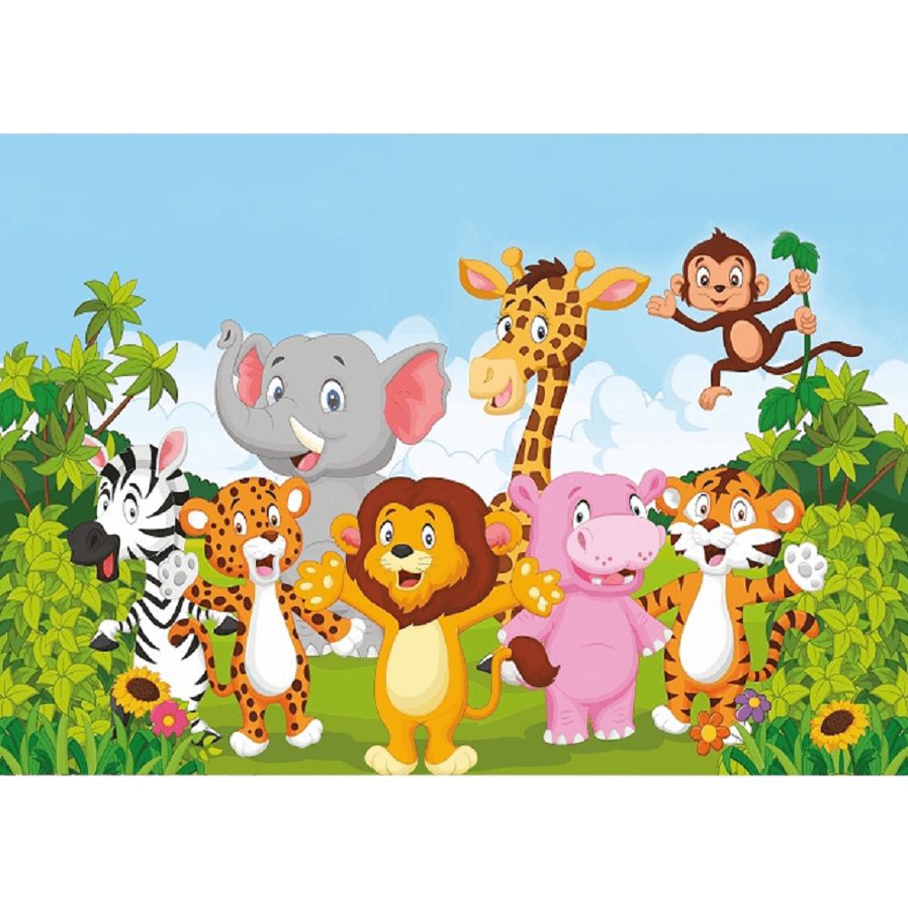 Covor camera copiilor 100x150 cm, multicolor, XANDER