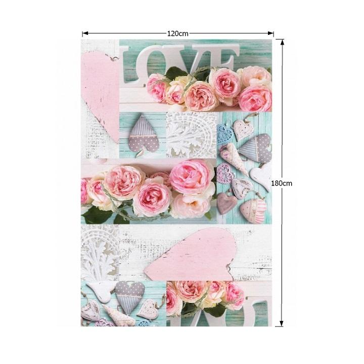Szőnyeg, rózsaminta, többszínű, 120x180, SONIL tip 2