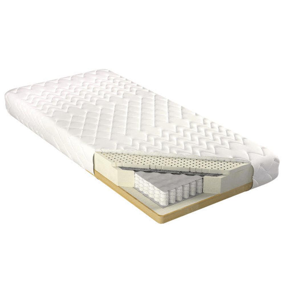 Matrac az ágyrácson, rugós, 80x200, LUX