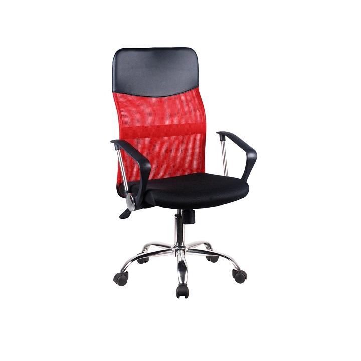 Irodai szék, fekete ekobőr, TC3-973M