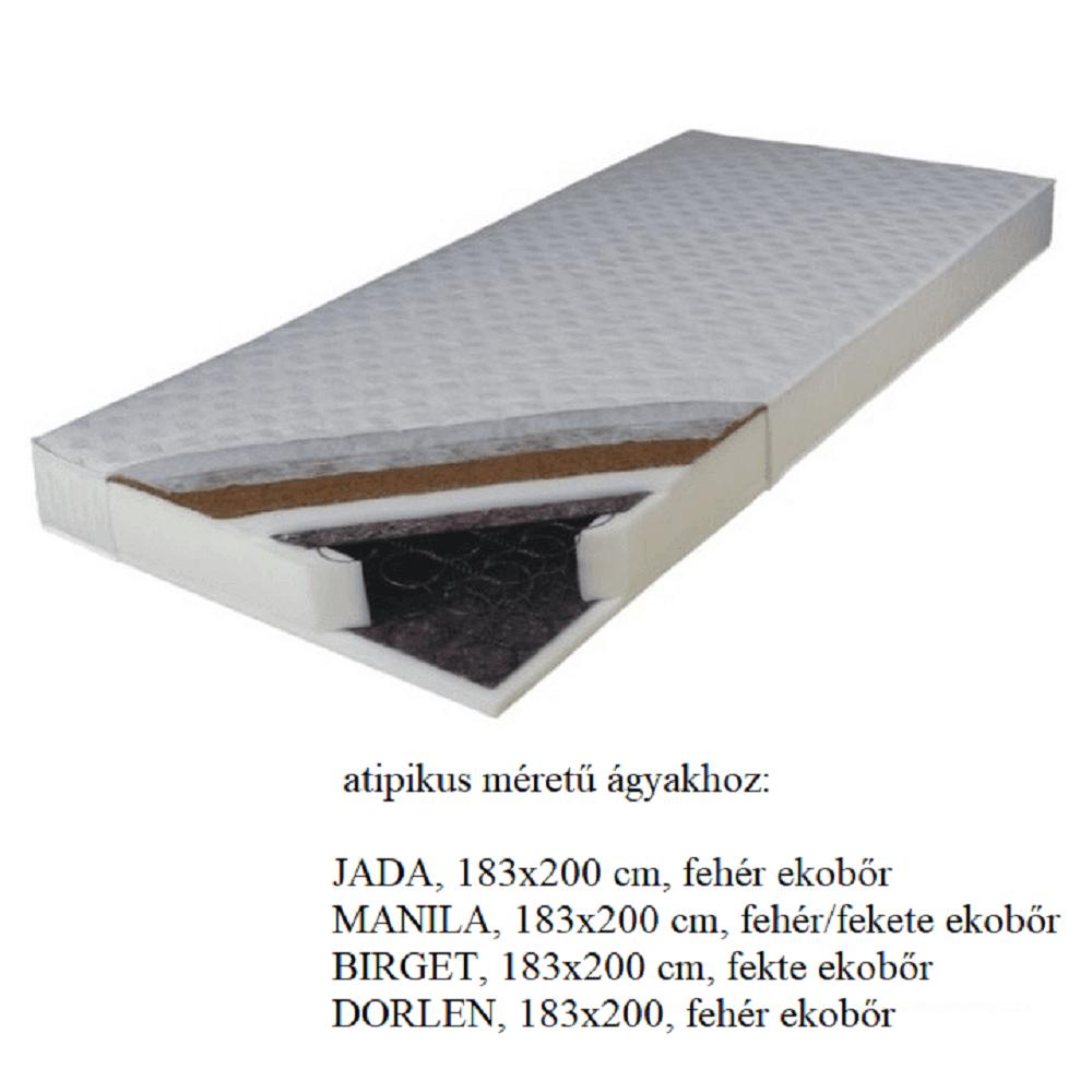 Rugós matrac, 183x200 cm, KOKOS MEDIUM ATYP