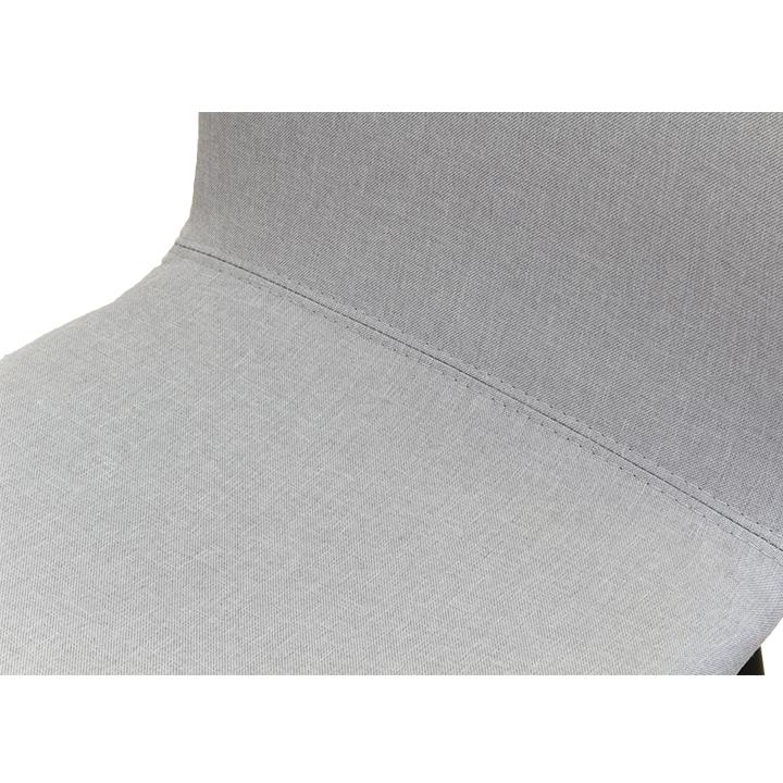 Jedálenská stolička, svetlosivá/čierna, RENITA