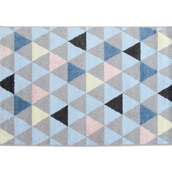 TEMPO KONDELA Koberec, viacfarebný, 67x120, PETAL