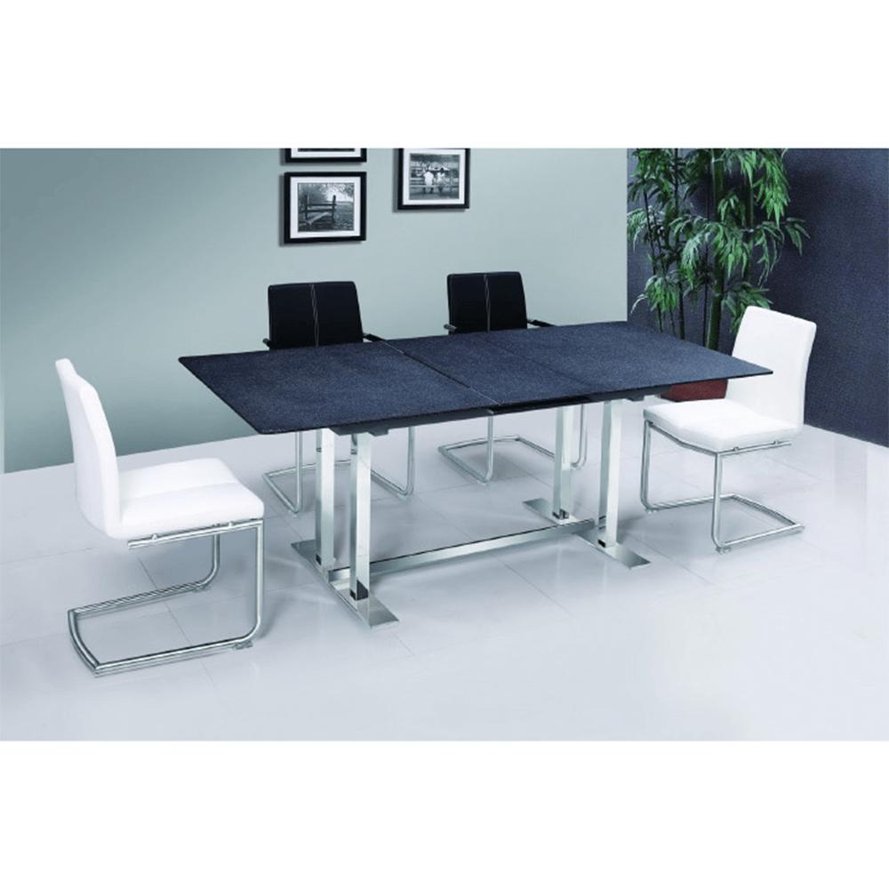 Jídelní stůl, kámen / ocel, BENDER