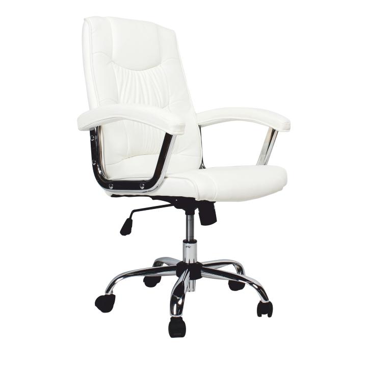 Irodai szék, világos barna ekobőr PU, LIONEL 1658LC
