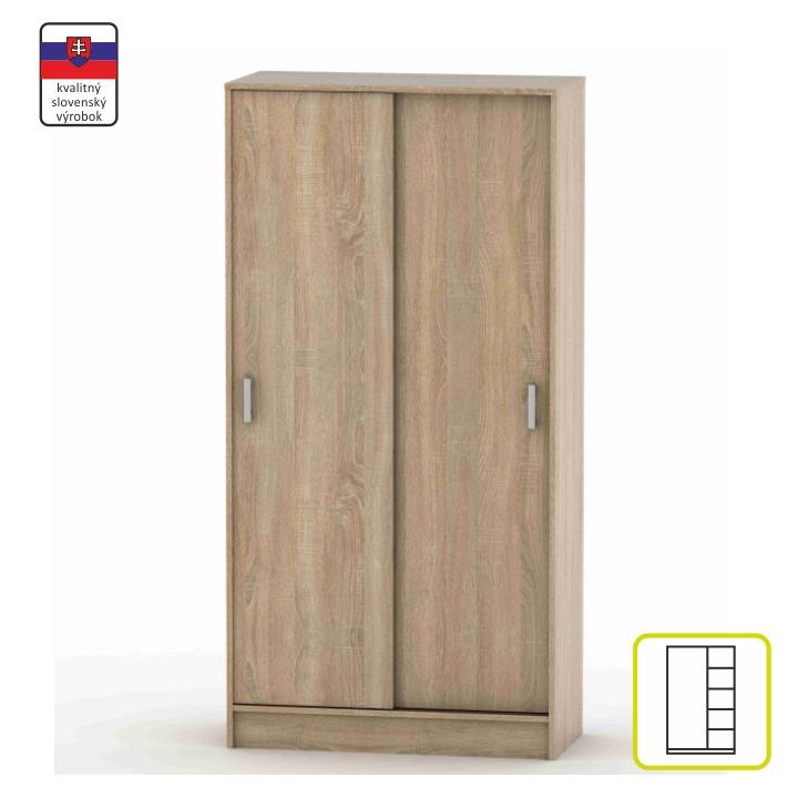 BETTY-4 tolóajtós szekrény