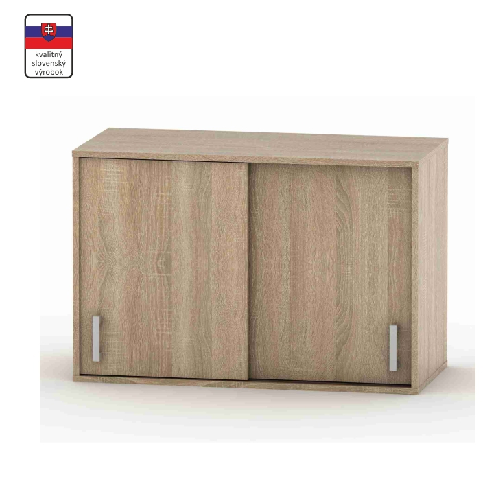 Nadstavec nad skriňu, dub sonoma, BETTY 4 BE04-005-00