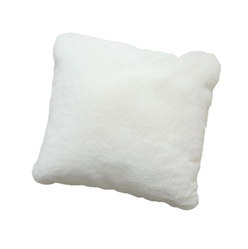 Vankúš, biela, 45x45, RABITA TYP 7