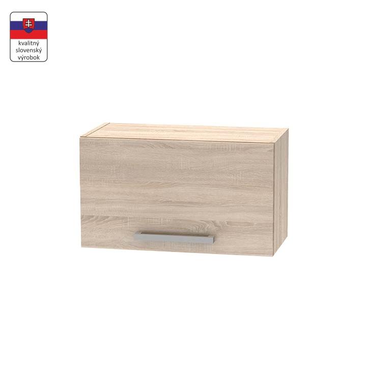 Horná digestorová skrinka 1DV, dub sonoma,  NOVA PLUS NOPL-011-OH