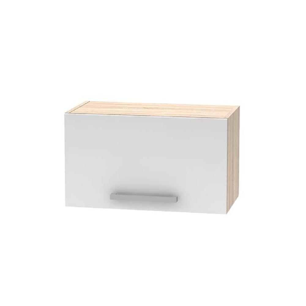 Horní digestorovou skříňka 1DV, dub sonoma / bílá, NOPL-011-OH