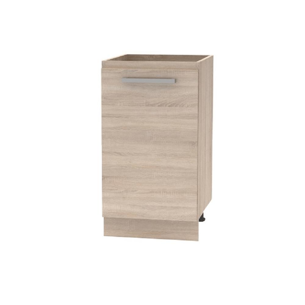 Spodní skříňka 45 1DV, dub sonoma, NOPL-063-0S