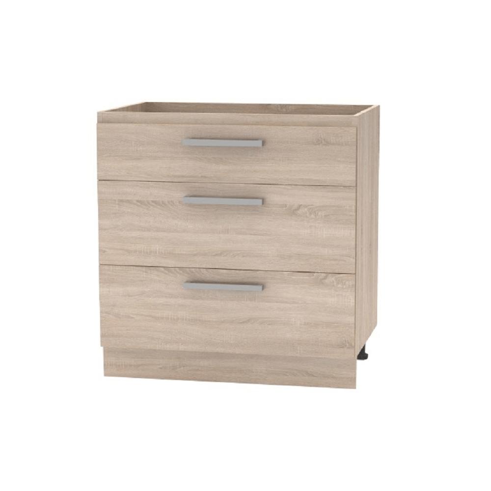 Spodní skříňka 45 1DV, dub sonoma, NOPL-064-0S