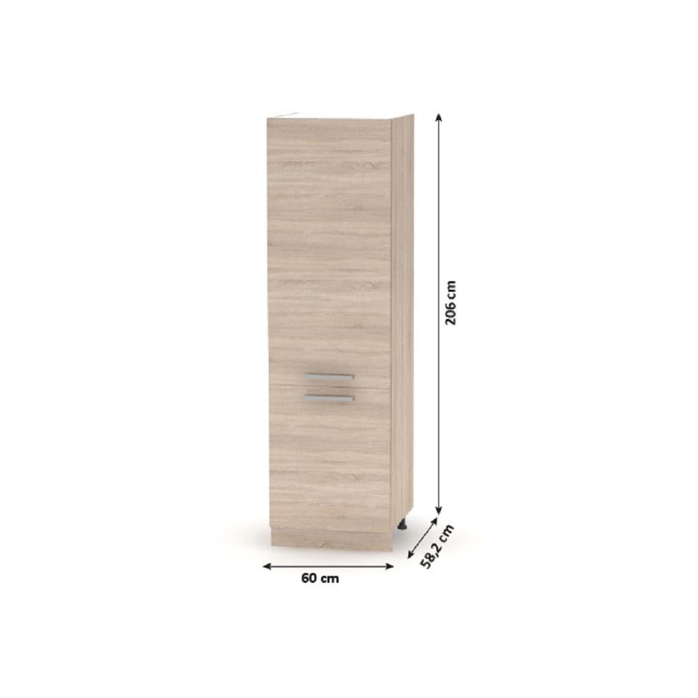 Élelmiszer szekrény, sonoma tölgy, NOVA PLUS NOPL-081-60