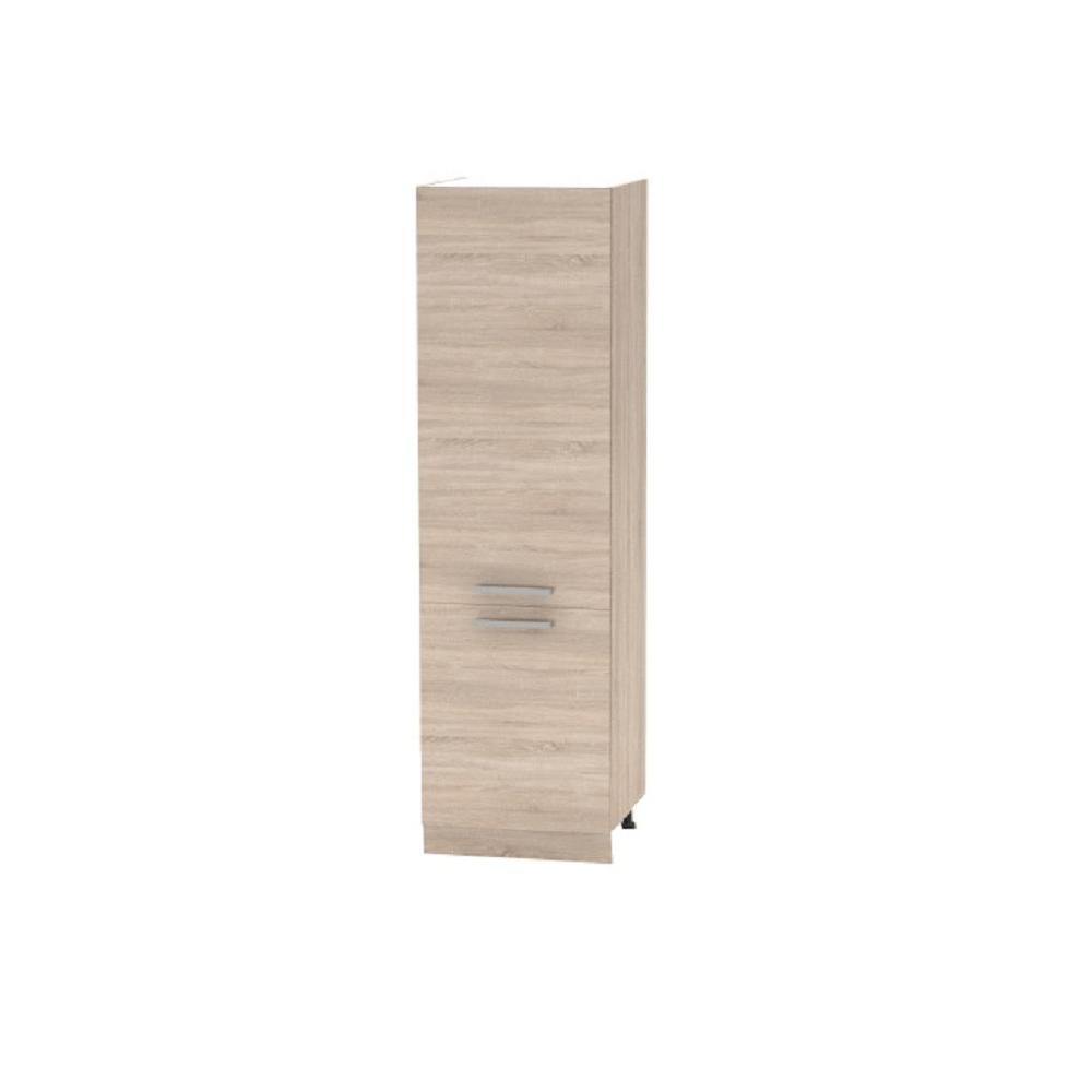 Cabinet pentru produse alimentare, stejar sonoma, NOVA PLUS NOPL-081-60