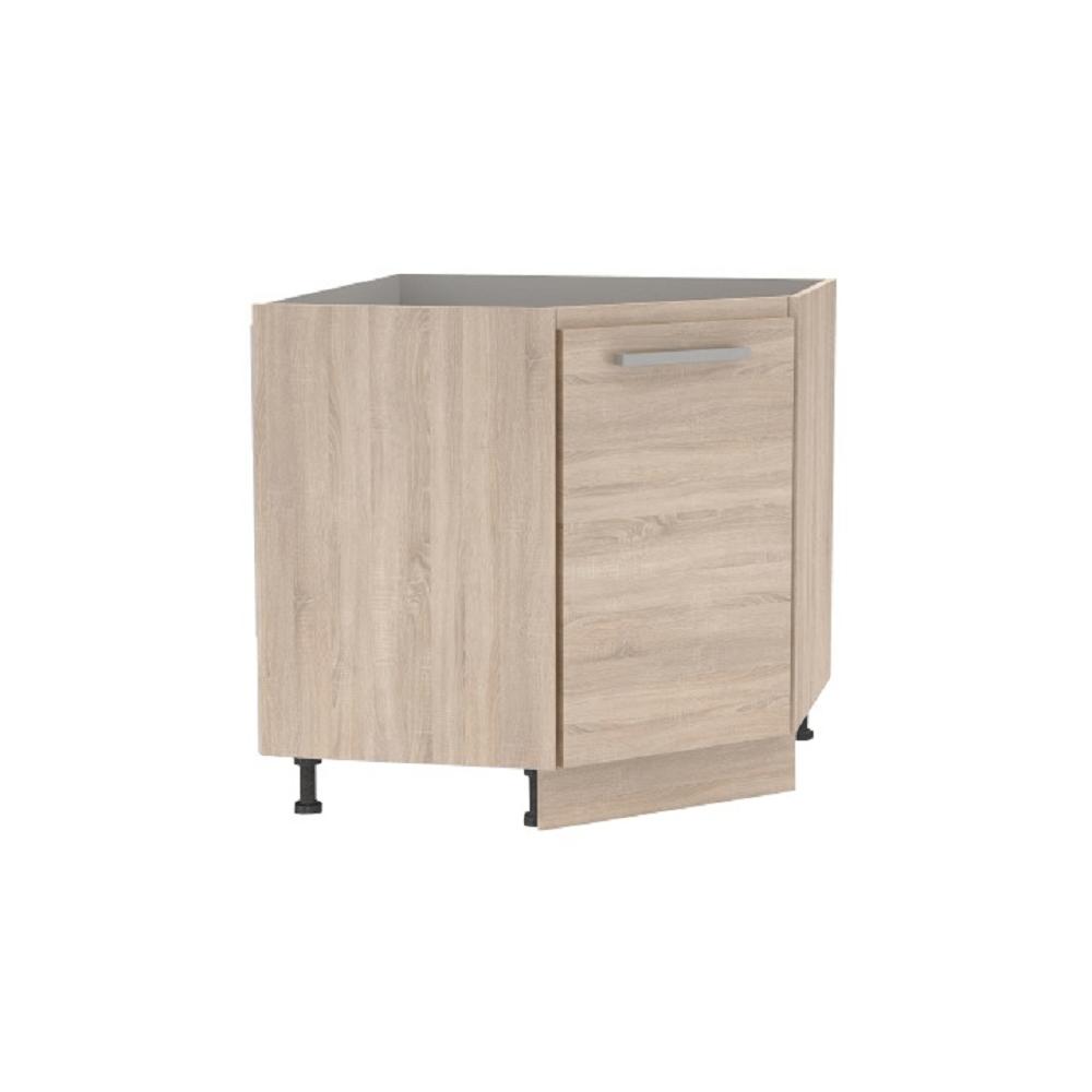 Cabinet inferior de colț, stejar sonoma, NOVA PLUS NOPL-065-RS
