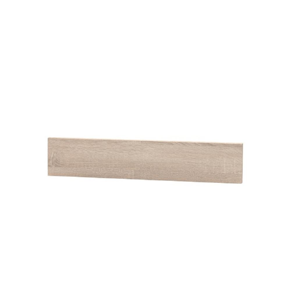 Capăt plintă laterală pentru dulapuri mici, stejar sonoma, NOVA PLUS NOPL-062-00