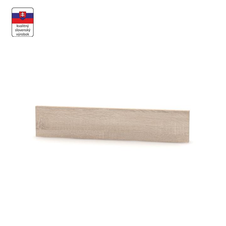 Koncový bočný sokel na vysoké skrinky, dub sonoma, NOVA PLUS NOPL-062-01
