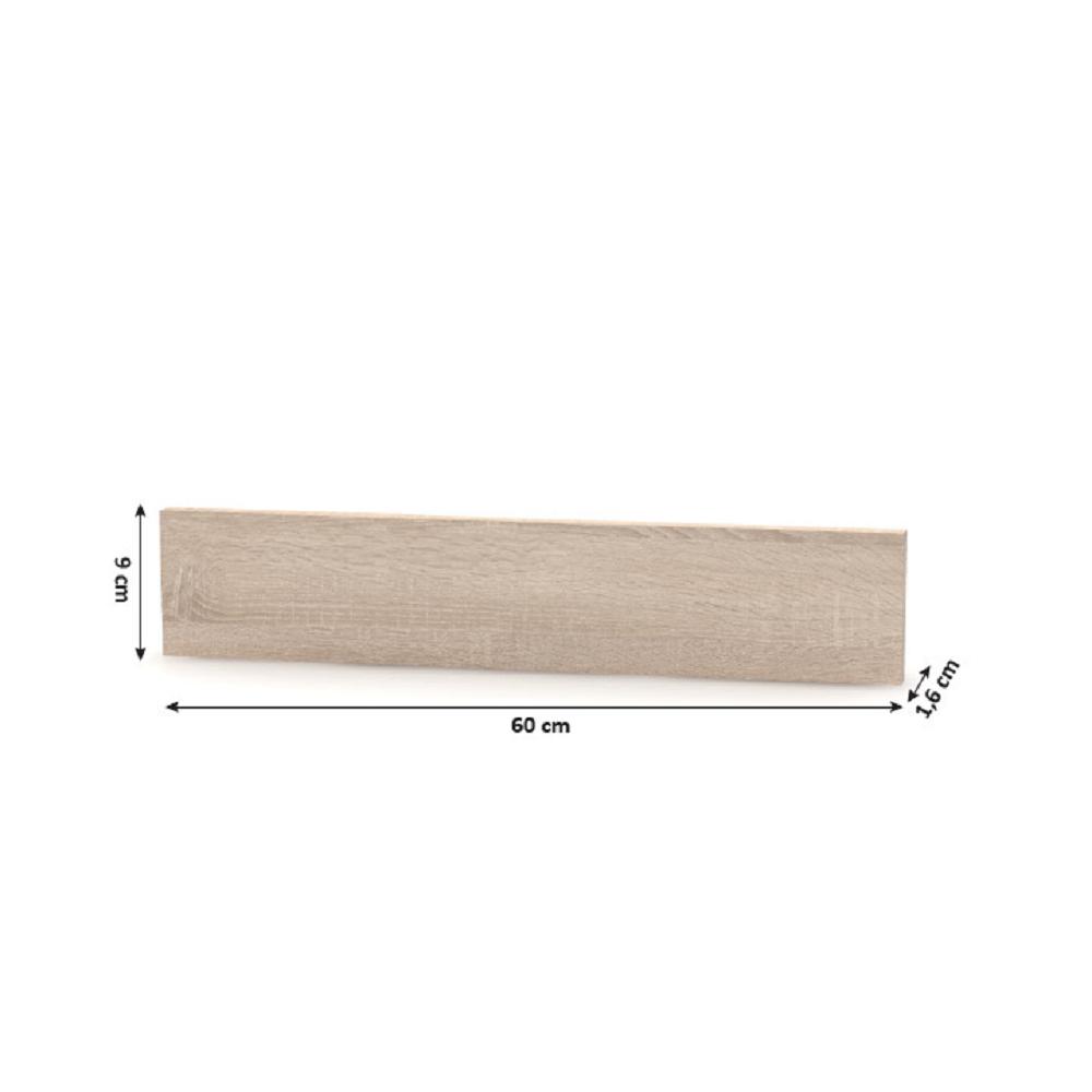 Mosogató alsóléc 45, sonoma tölgy, NOVA PLUS NOPL-062-03