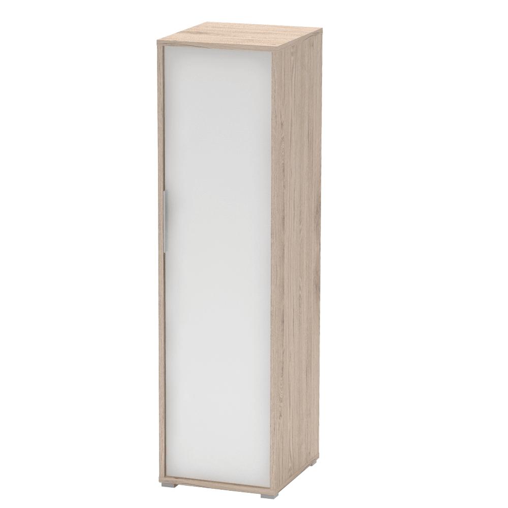 Akasztós szekrény, san remo/fehér, RIOMA TYP 20