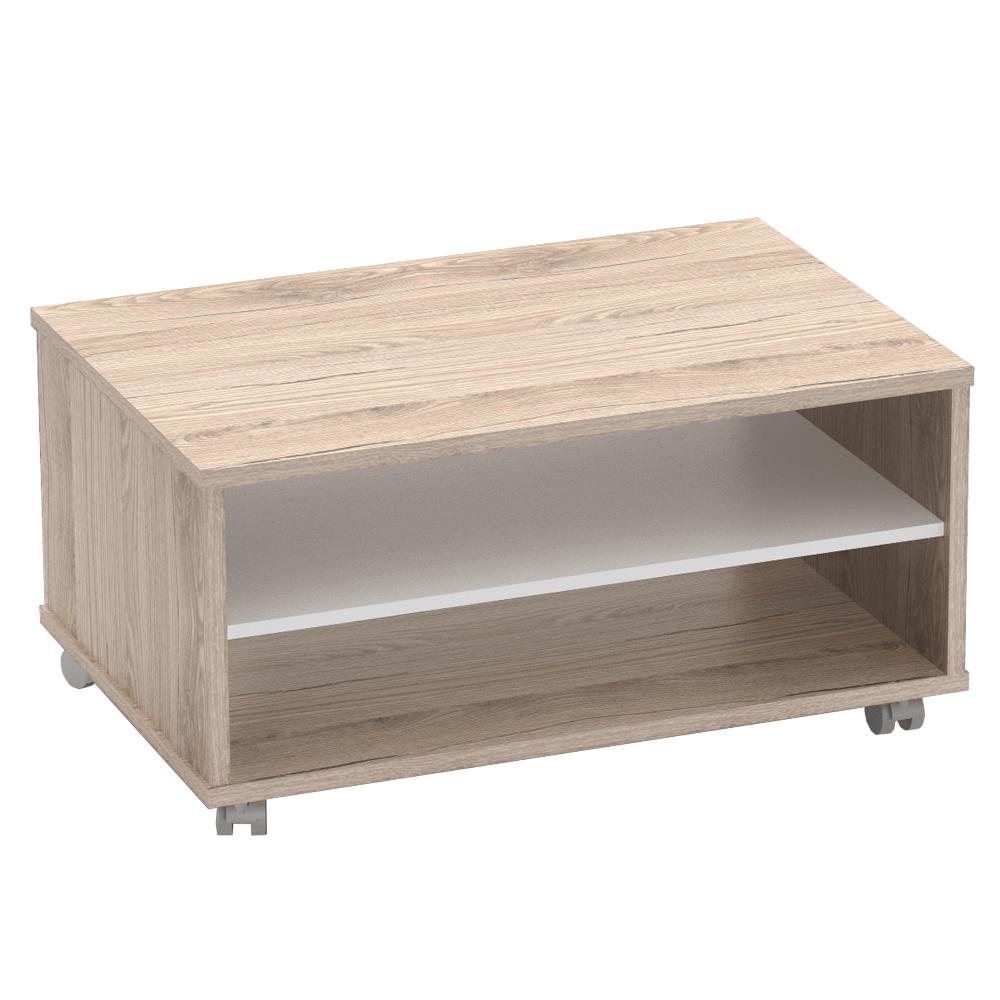 Konferenční stolek, san remo / bílá, RIOMA TYP 32