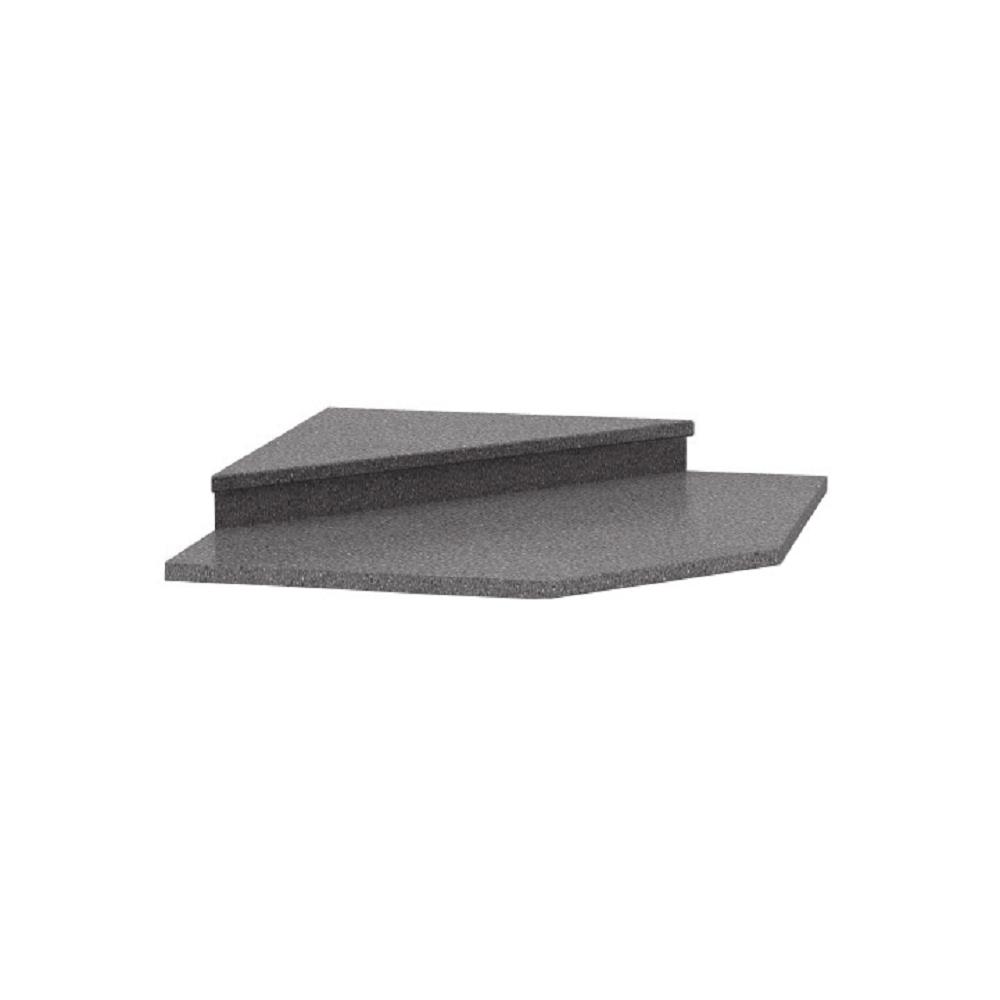 Extensie pentru dulapul de colț 065, decor de granit antracit, NOVA PLUS