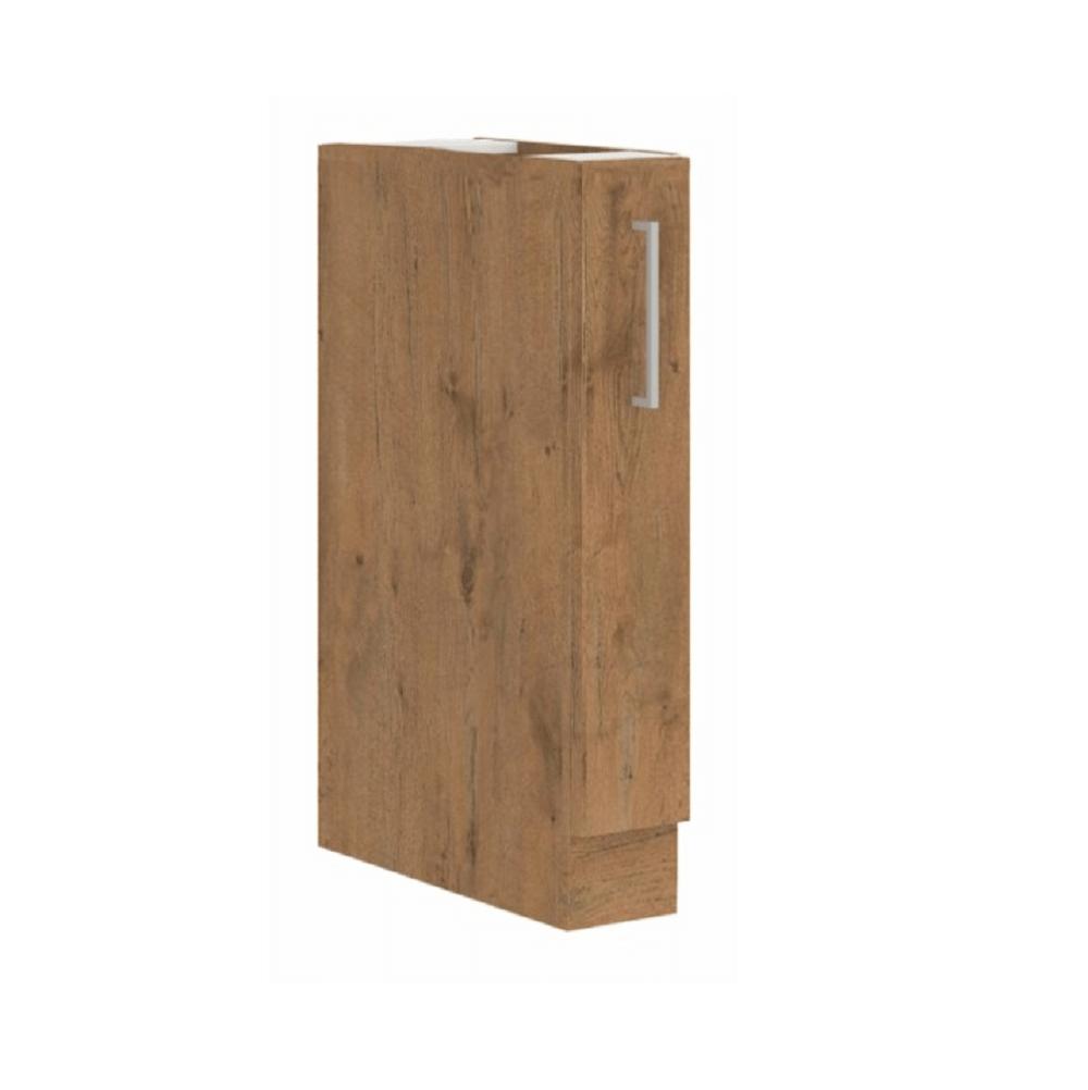 Cabinet inferior cu coş pull-out, stejar Lancelot, VEGA D15 CARGO BB