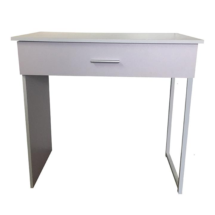 PC stôl, biela, AVARD