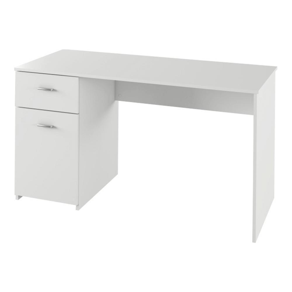 PC stôl, biela, BANY