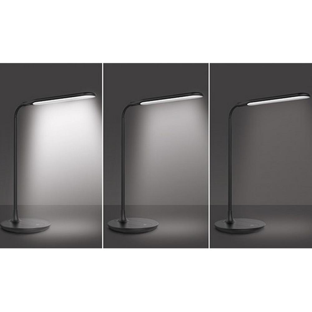 Lampa de masă Wo49-b, neagră mat /ABS