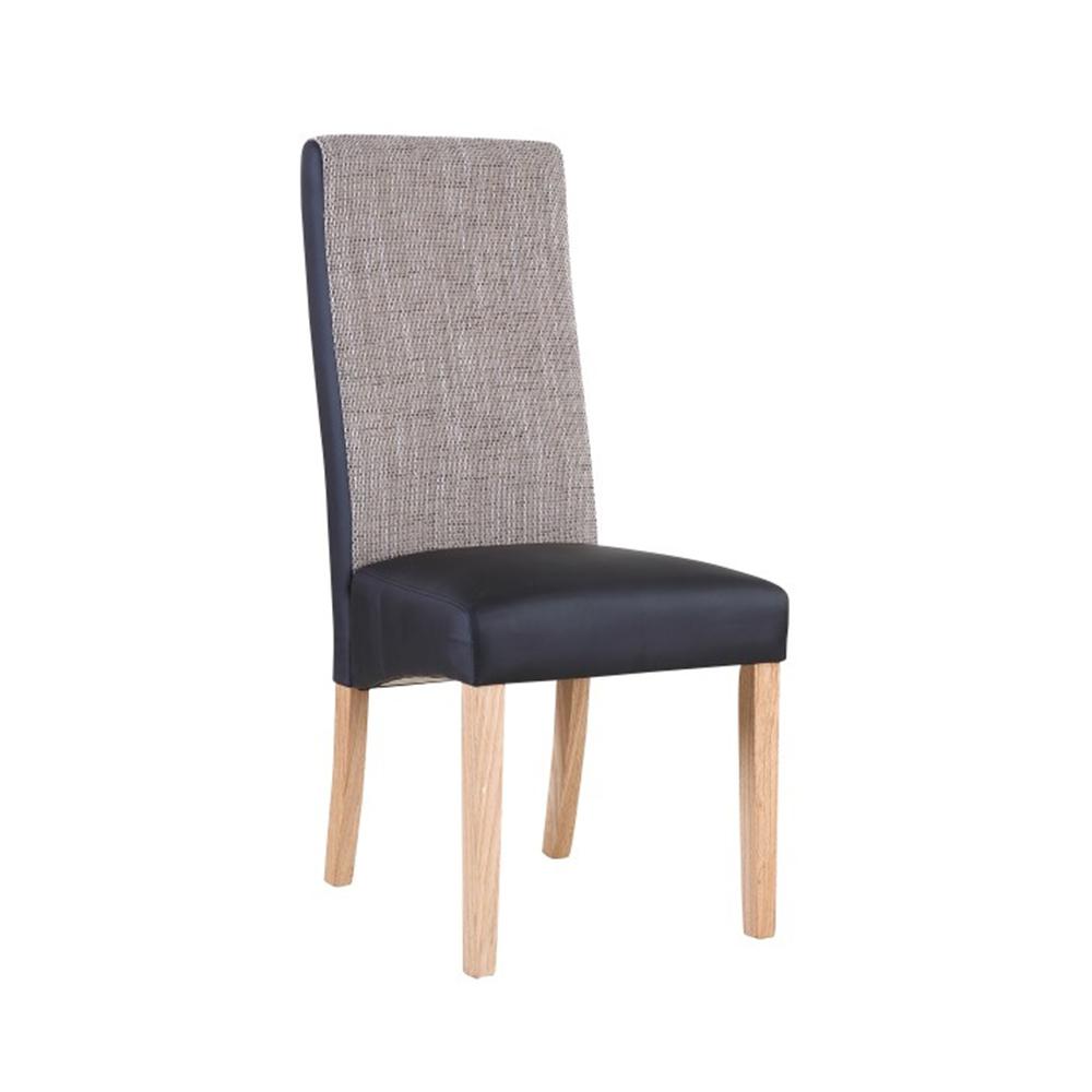 ARDON -;Židle, natural / černá / melír, TEMPO KONDELA