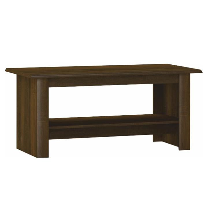 Konferenční stolek, dub sonoma čokoláda, PARMY