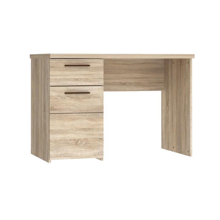 PC asztal, sonoma tölgyfa, KOMBINO PC asztal