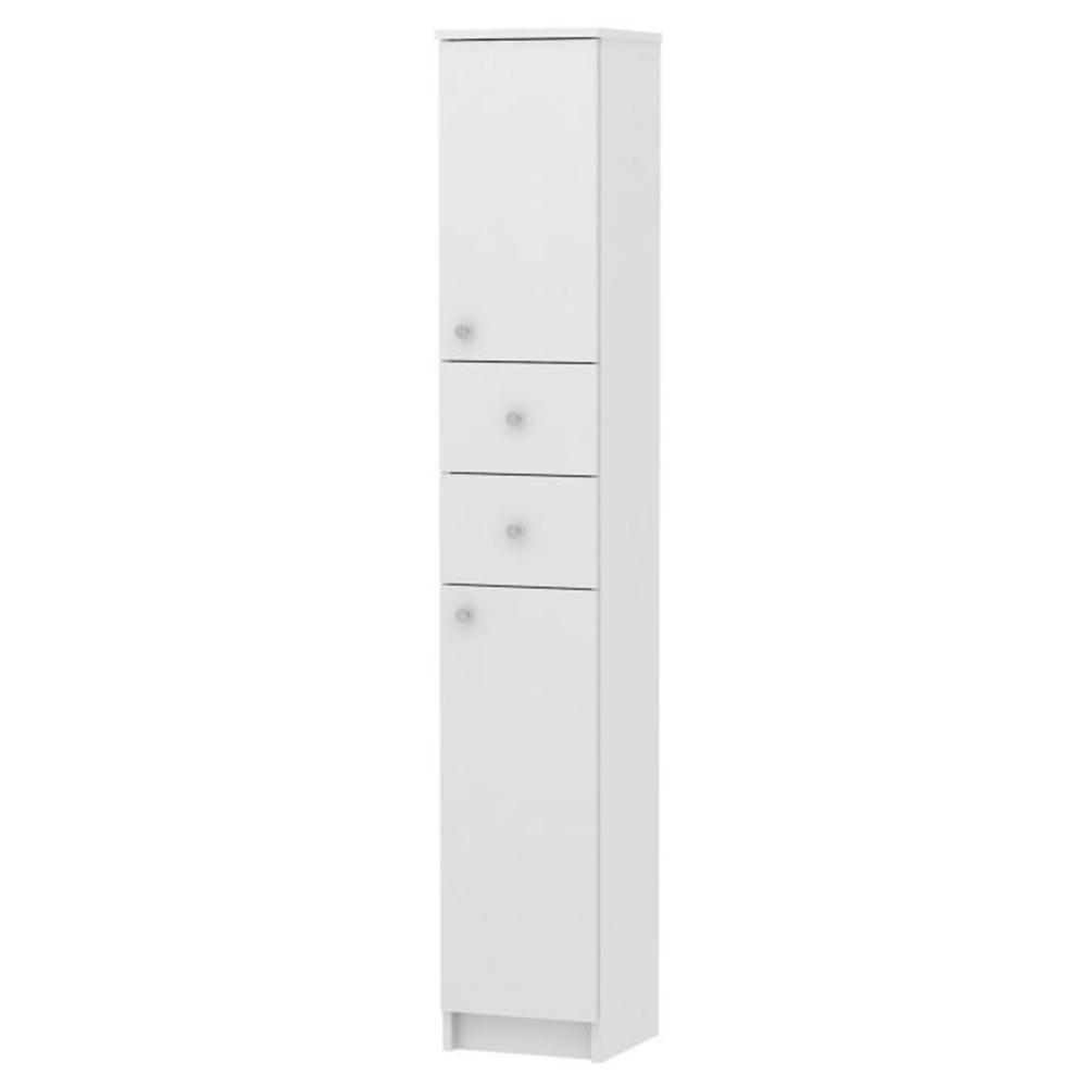 Vysoká skříňka, bílá, GALENA SI13