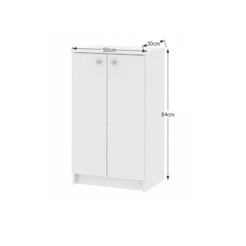 Alsó szekrény, fehér, GALENA SI06