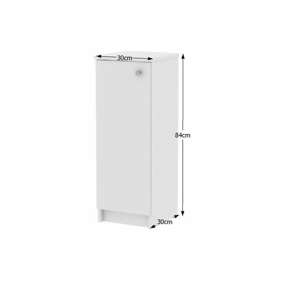 Alsó szekrény, fehér, GALENA SI07