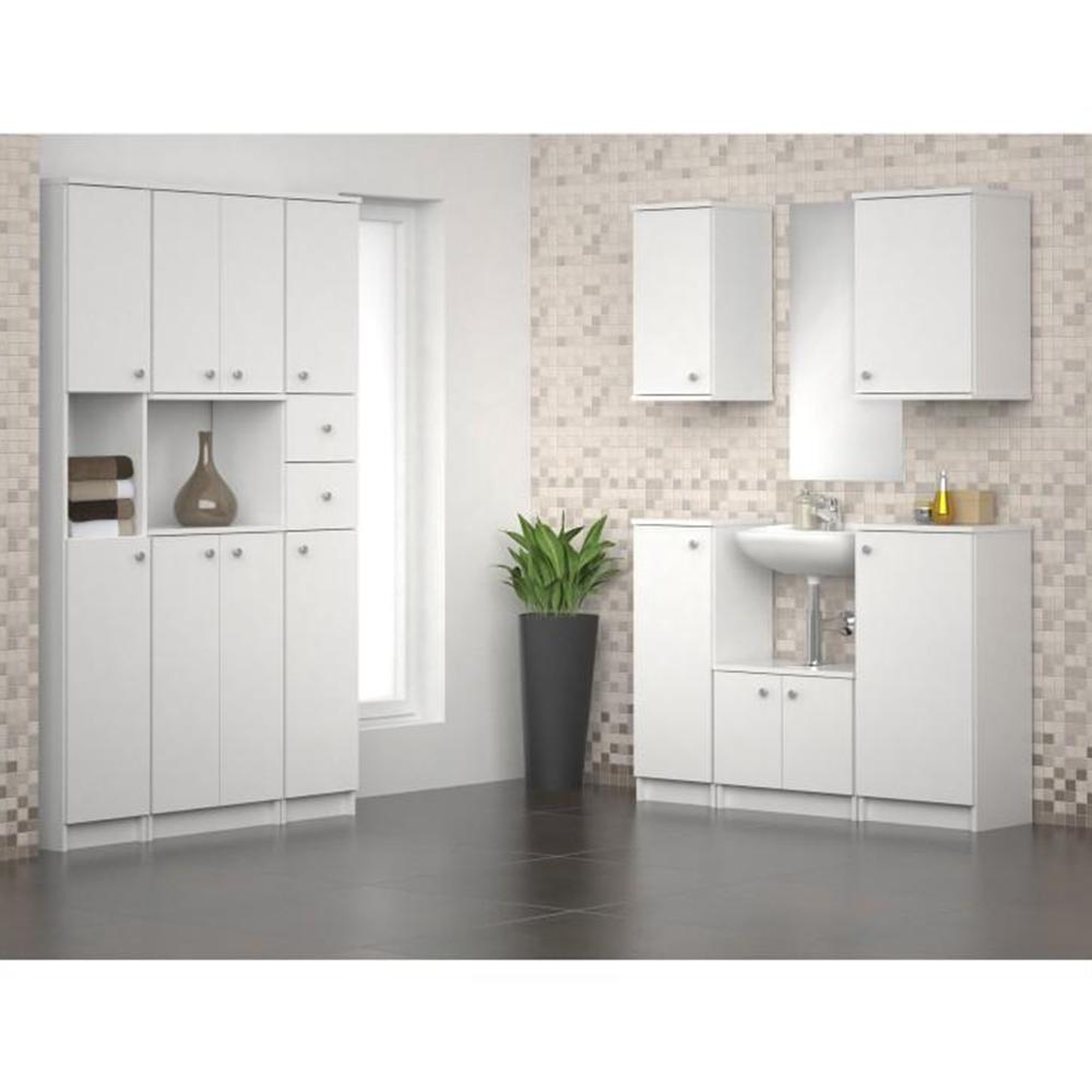 Alsó szekrény, fehér, GALENA SI12