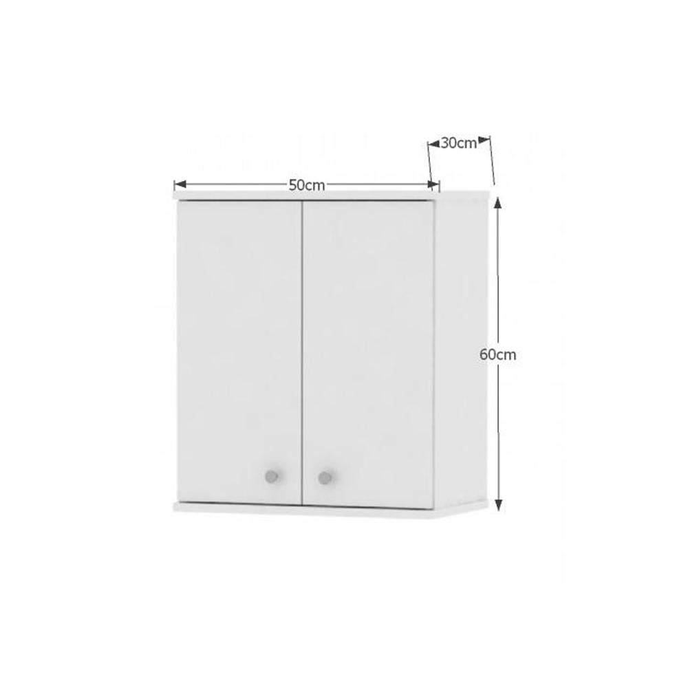 Felső fali szekrény, fehér, GALENA SI08