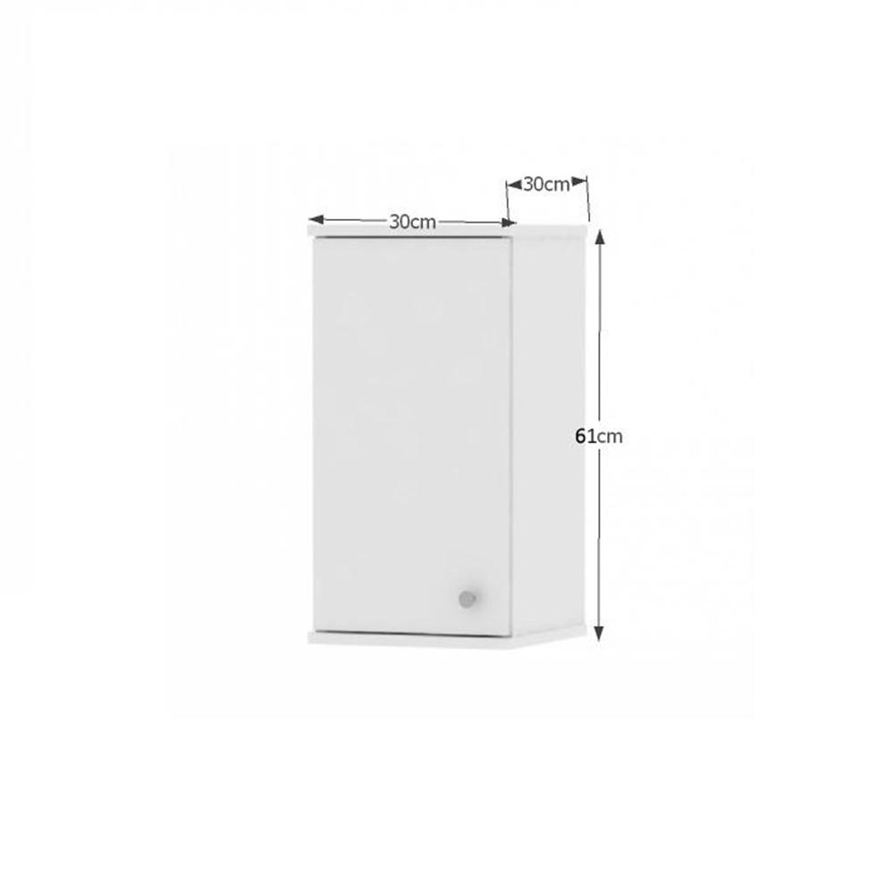Horní závěsná skříňka, bílá, GALENA SI09, TEMPO KONDELA
